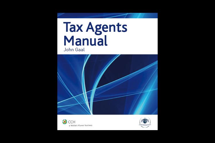 Tax Agents Manual