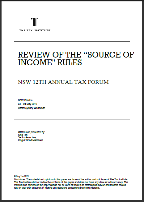 """Review of the """"source of income"""" rules thumbnail"""